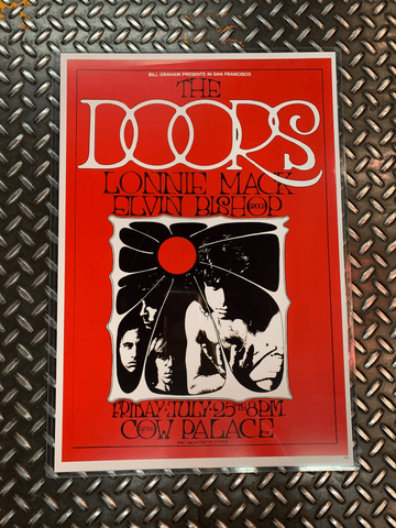 Fresh Prints Posters The Doors Vintage Poster