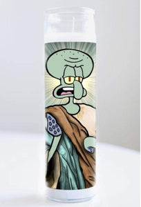 Candle Squidward Tentacles