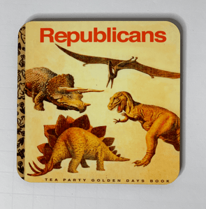 Republican Dinosaurs Coaster