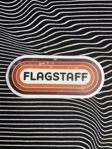 Retro Flagstaff Sticker