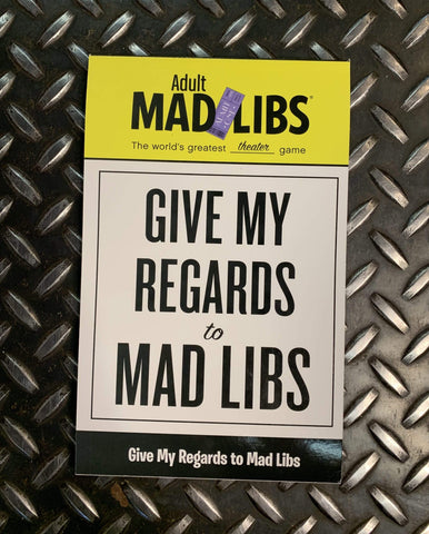 Penguin Random House Books Mad Libs Give My Regards To