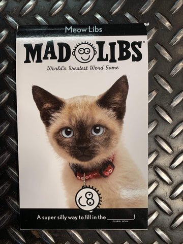 Penguin Random House Books Mad Libs Meow Libs