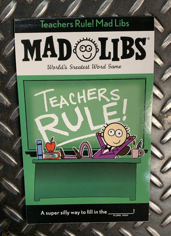 Penguin Random House Books Mad Libs Teachers Rule!