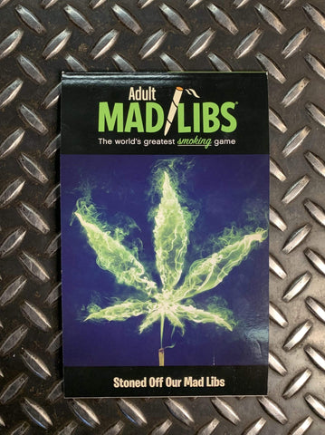 Penguin Random House Books Smoking Mad Libs