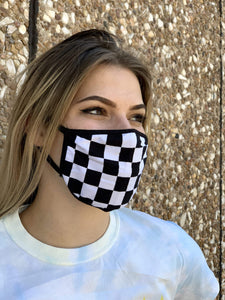Checkers Face Covering