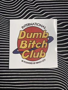 Genuine Bitch Club Sticker