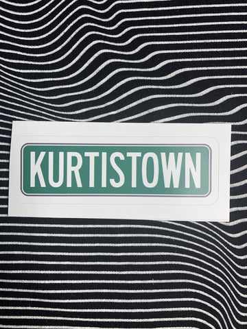 Red Bubble Stickers Kurtistown Sticker