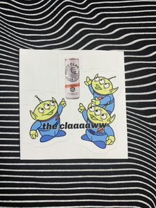 The Claaawww Sticker
