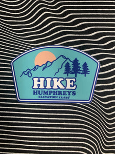 Hike Humphrey's Sticker