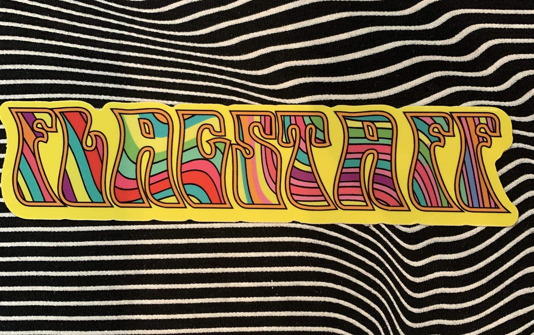 Trippy Flagstaff Sticker