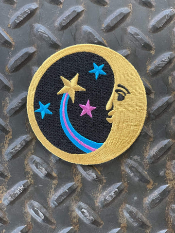 The Village Imports Patches Cosmic Moon Patch