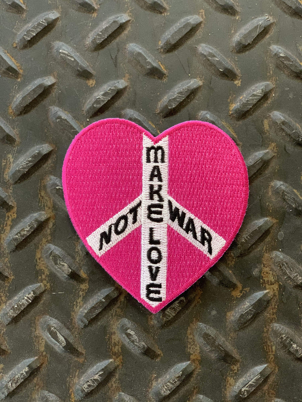 Make Love Not War Patch