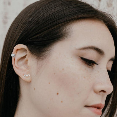 Incredible Ways To Wear Ear Cuff Stud Earrings