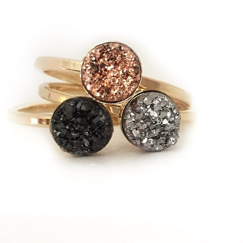 What is a druzy ring