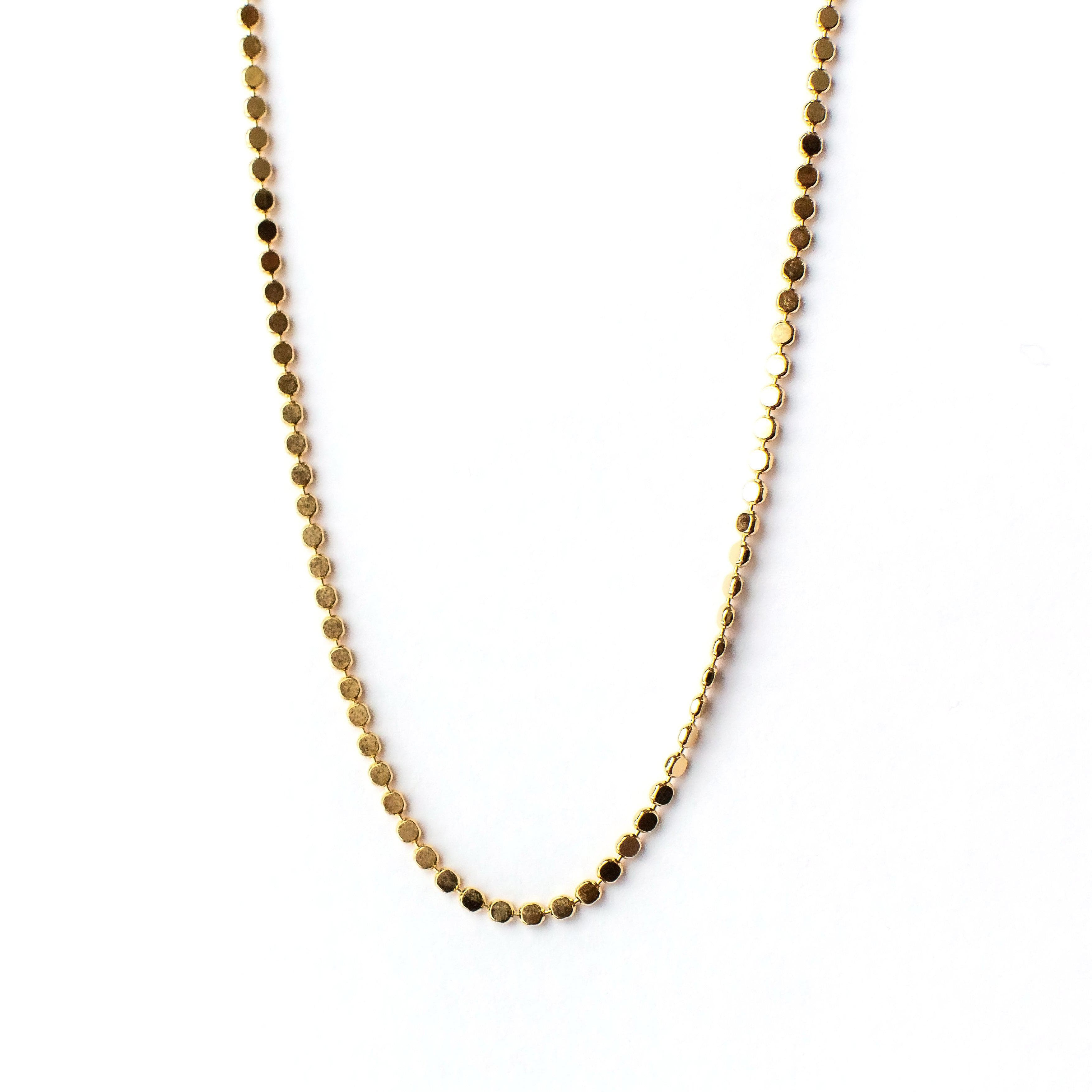 Dot Chain Necklace