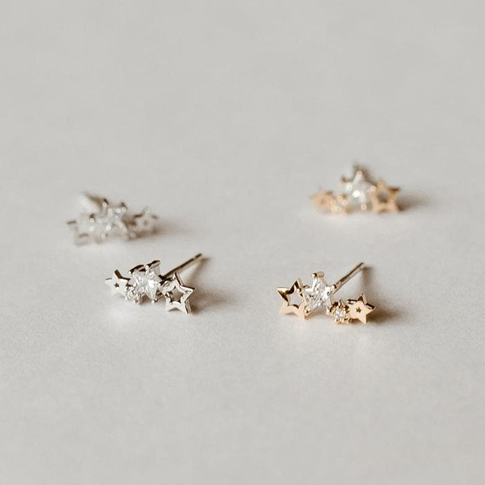 Lyra Studs, Earrings, adorn512, adorn512