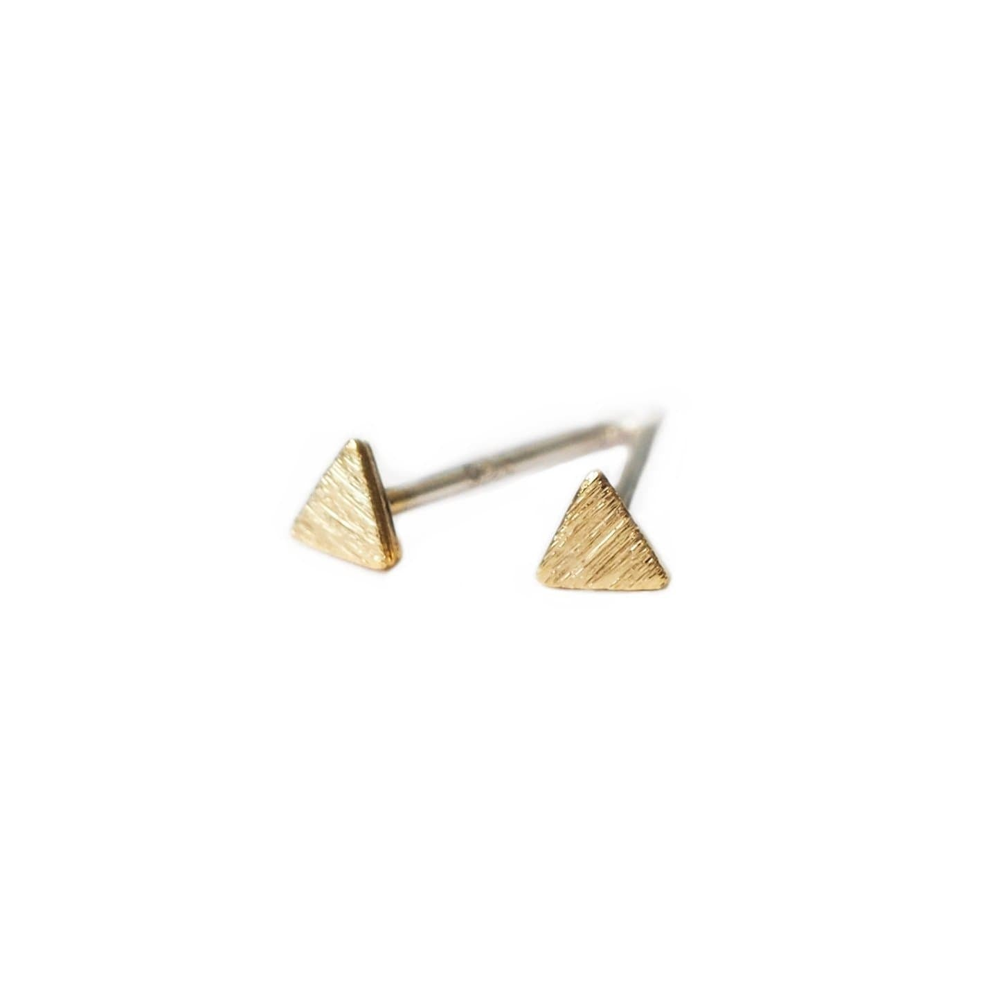 Triangle Stud Earrings, Earrings, adorn512, adorn512