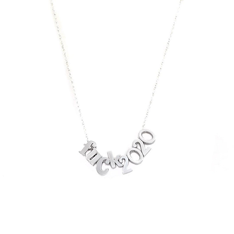 F*ck 2020 Necklace
