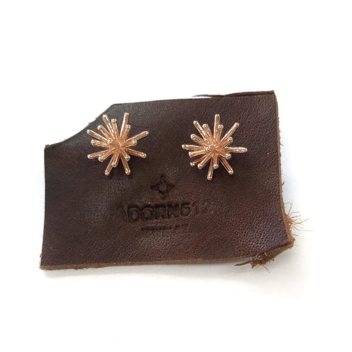 Sunburst Stud, Earrings, adorn512, adorn512