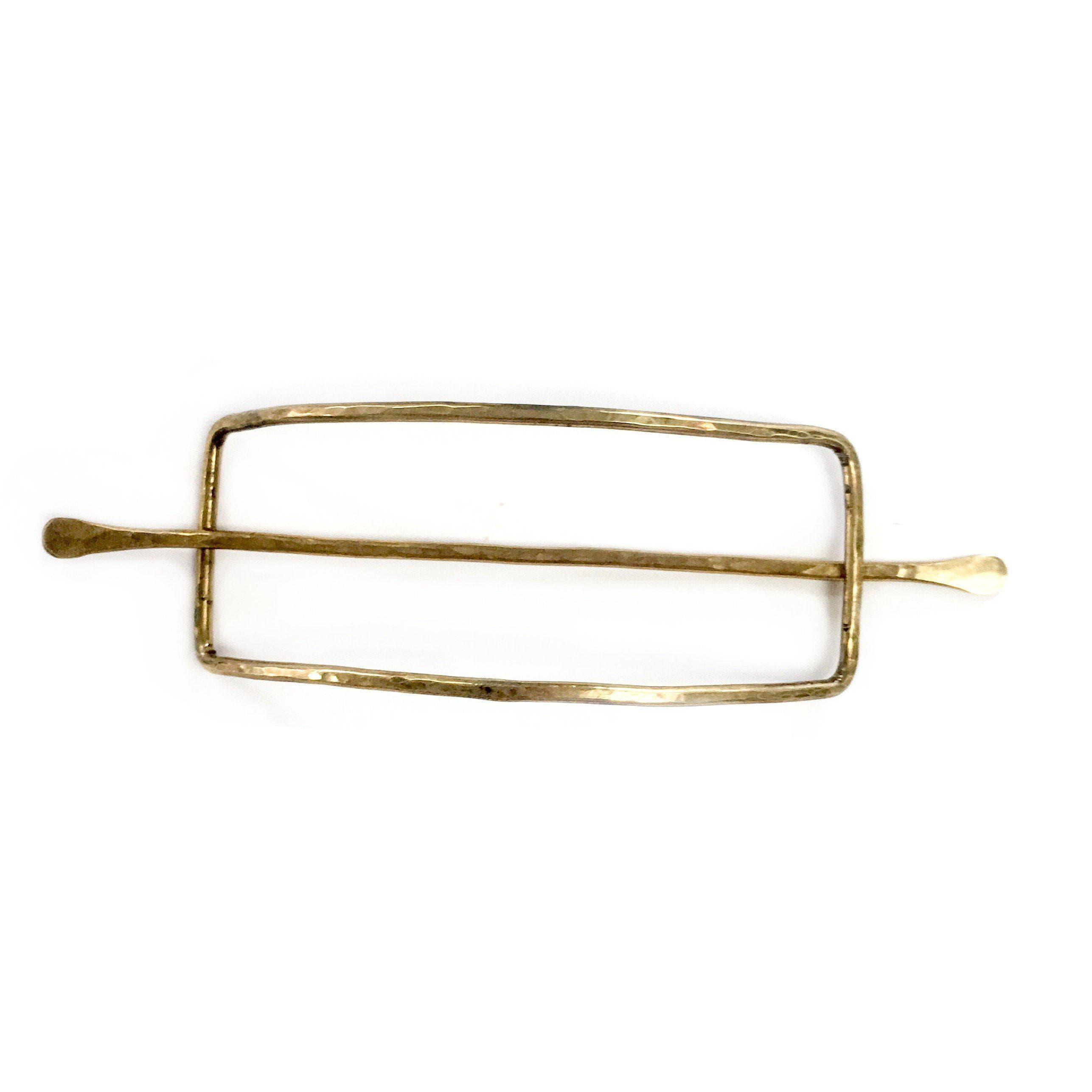 Rectangle Hair Slide **** Currently in Anthropologie, hair pin, adorn512, adorn512