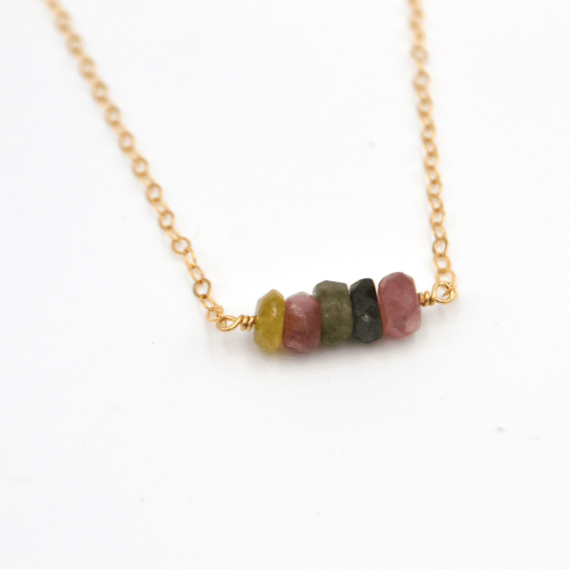 Tourmaline Chunk, Necklaces, adorn512, adorn512