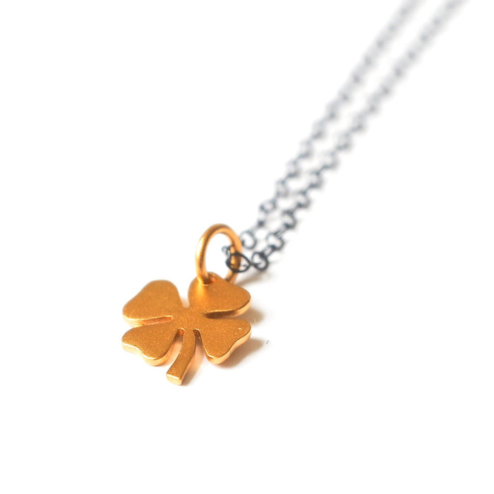 Clover Necklace, Necklace, adorn512, adorn512