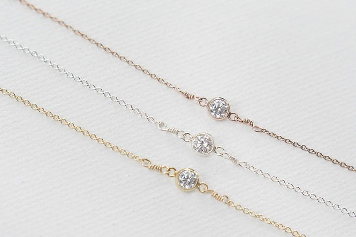 cz necklaces