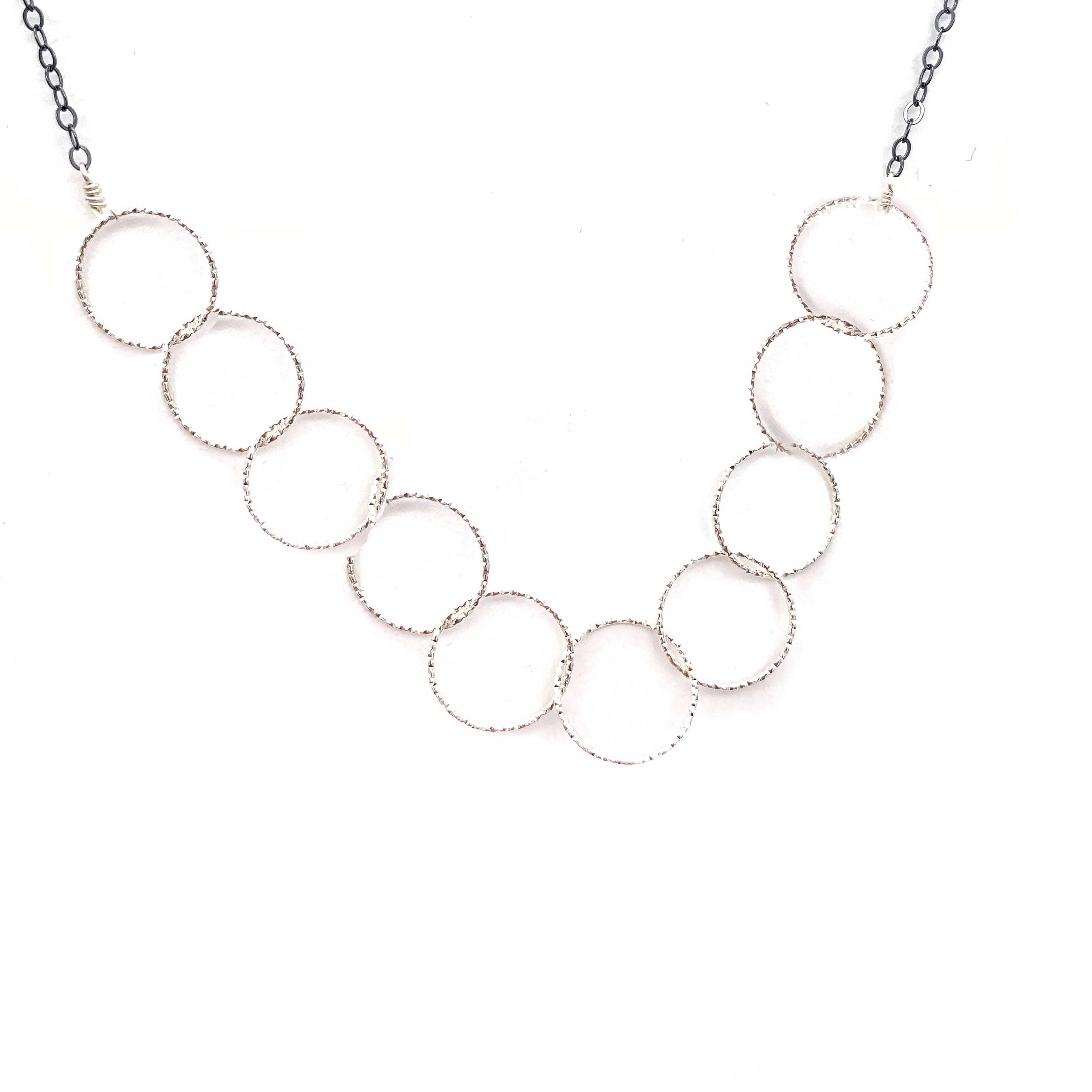 Diamond Cut Ten Circle, Necklaces, adorn512, adorn512