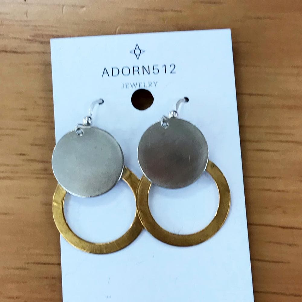 *FLASH* Double Circle Earrings