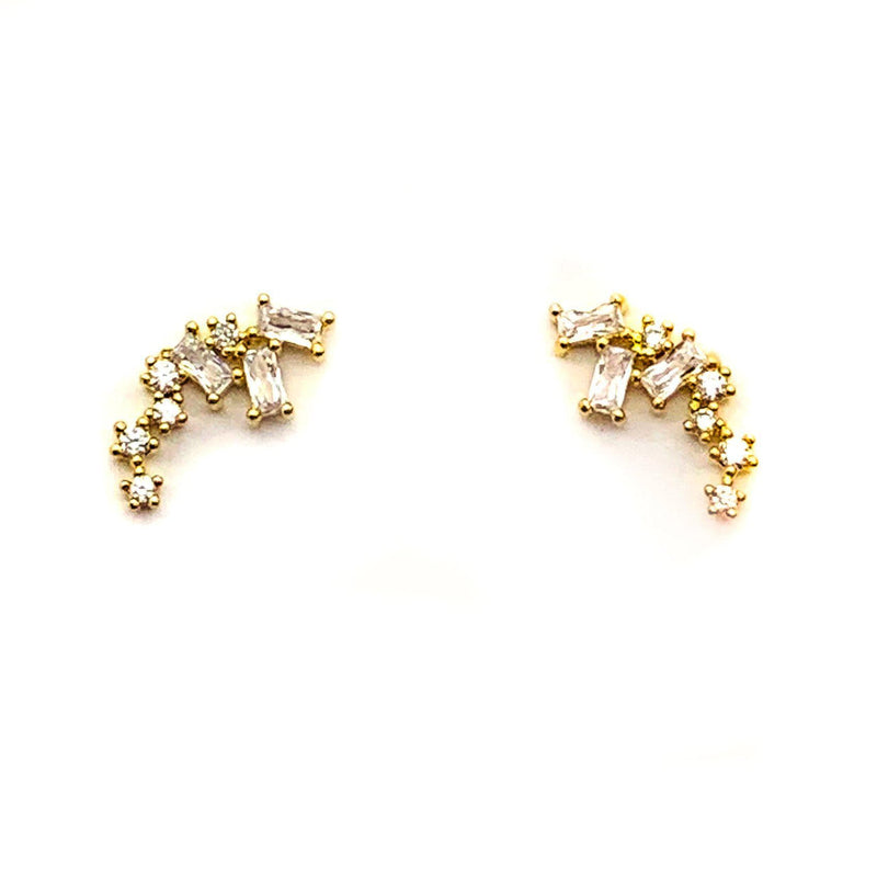 Emma Studs, Earrings, Adorn512, adorn512