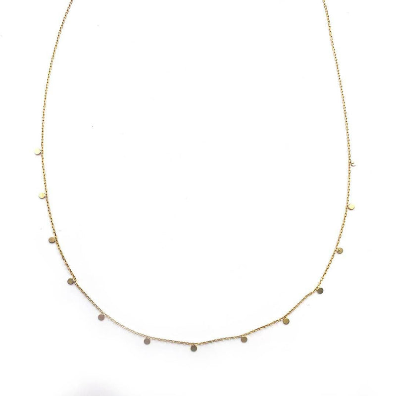Floating Circle Necklace - adorn512