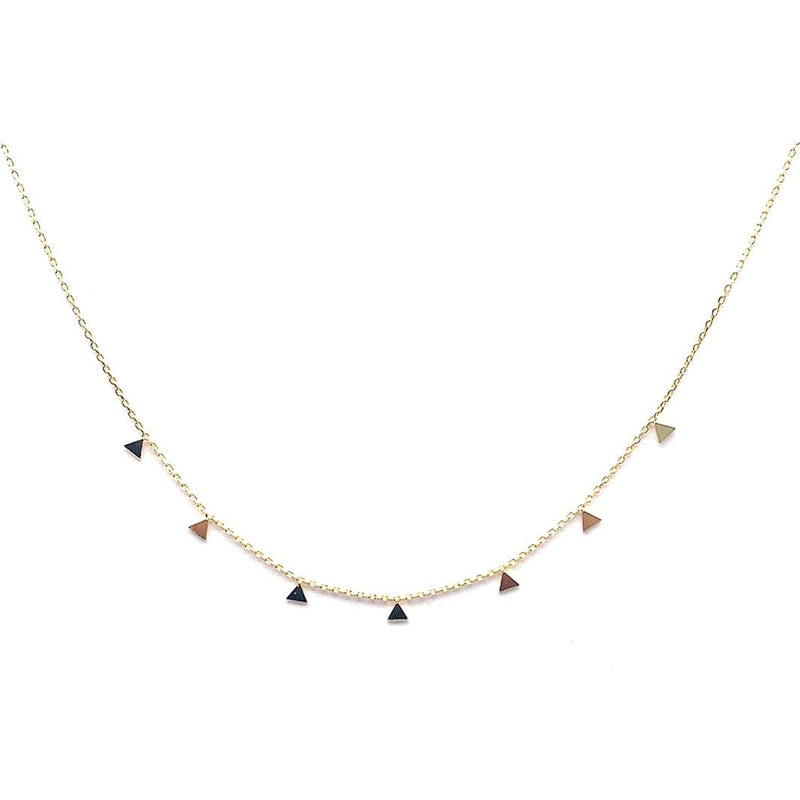 Floating Triangle Necklace - adorn512