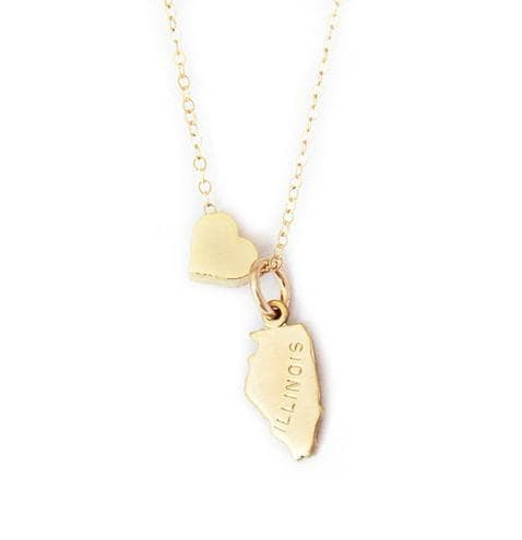 heart illinois necklace