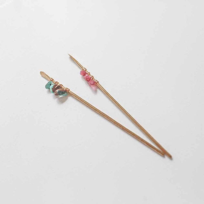 Jeweled Hair Stick, hair pin, Adorn512, adorn512