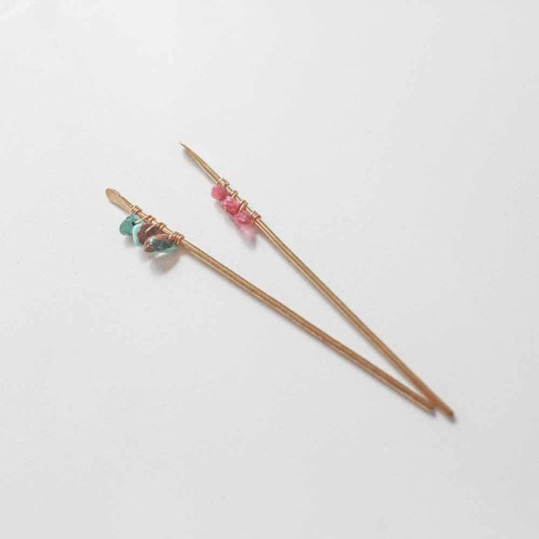 Jeweled Hair Stick