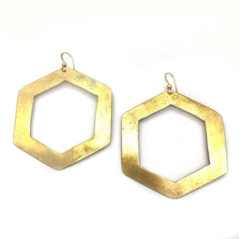 Hex Earring | Large