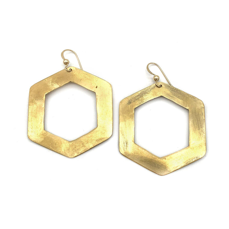 Hex Earrings | Small