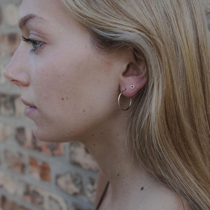 Hoop Studs, Earrings, adorn512, adorn512