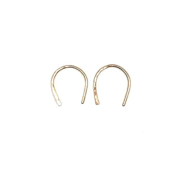 Single Horseshoe Earring, Earrings, adorn512, adorn512