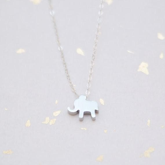 Elephant Necklace, Necklace, adorn512, adorn512