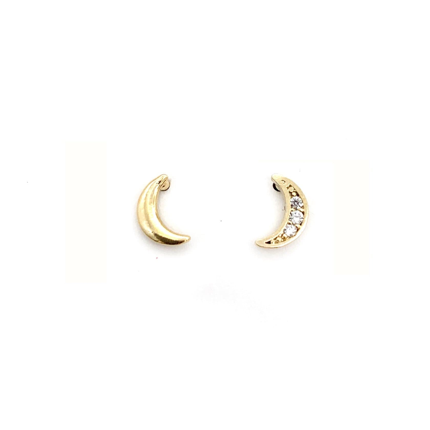 Luna Stud, Earrings, Adorn512, adorn512