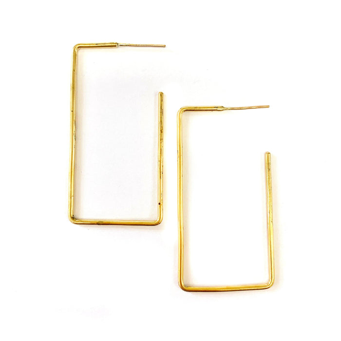 Rectangle Earring | Medium, Earrings, adorn512, adorn512