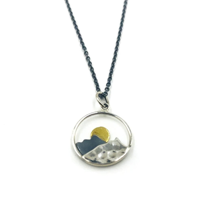 Mountain Sunrise, Necklace, adorn512, adorn512