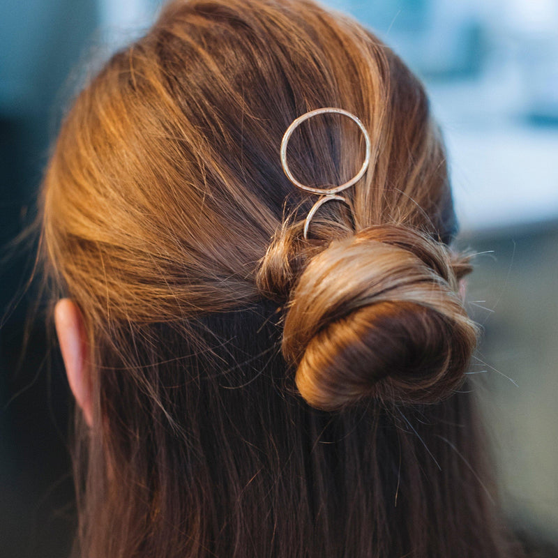 Oval Hair Pin, hair pin, adorn512, adorn512