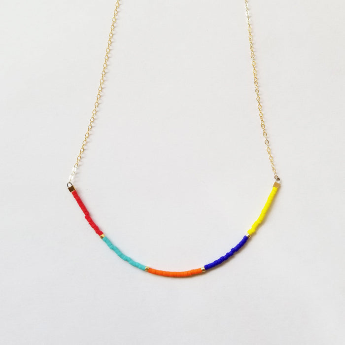 Seed Bead Chain Necklace