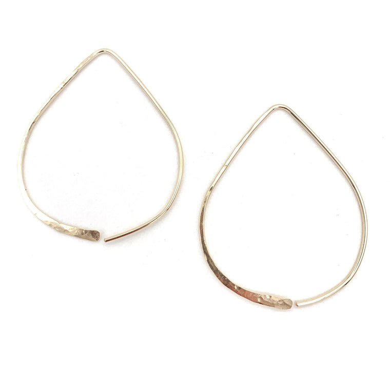 Single Teardrop Earring | Small