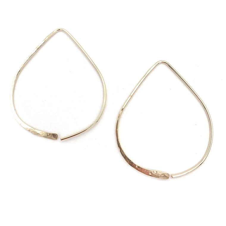 Teardrop Earrings | Large