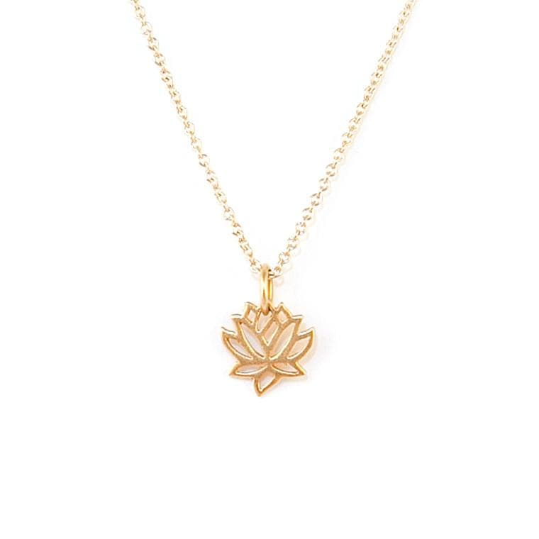 Lotus Necklace, Necklace, adorn512, adorn512