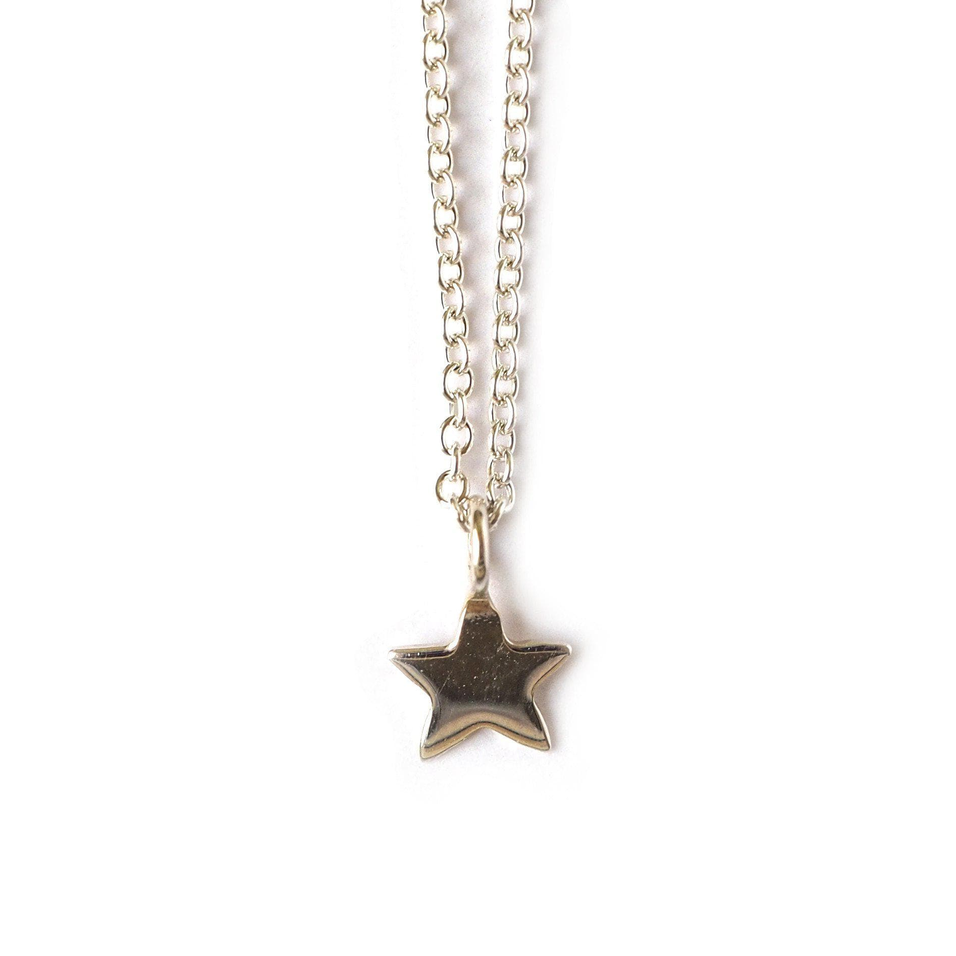 tiny dainty boho pin for trendy choker star jewelry gold her filled layering gift necklace