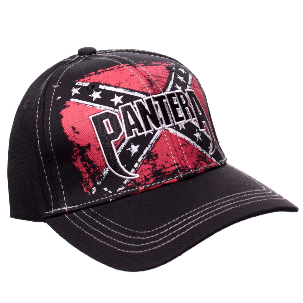 692a029183eff Pantera Confederate Flag Flex Fit Hat – The Fly Pelican